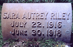 Sara Autrey Riley