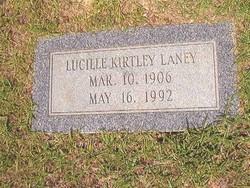 Ethel Lucille <i>Kirtley</i> Laney