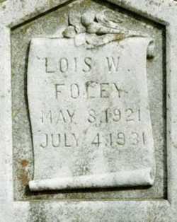 Lois W. Foley