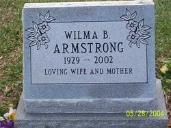 Wilma B Armstrong