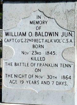 Capt William Owen Baldwin