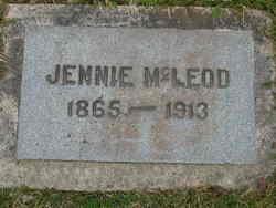 Jennie <i>Webb</i> McLeod