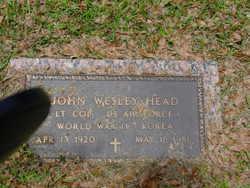 John Wesley Head