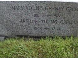 Mary Young <i>Cheney</i> Greeley