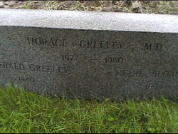 Dr Horace Greeley