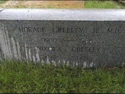 Dr Horace Greeley, Jr