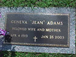 Geneva Jean Adams