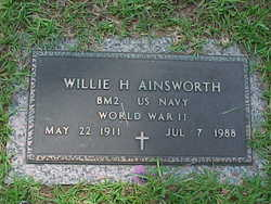 Willie Henry Ainsworth