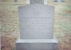 David E Buckingham