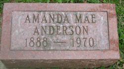 Amanda Marie Caroline Auguste <i>Hagedorn</i> Anderson