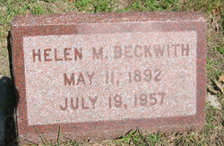 Helen Marie <i>Ormsby</i> Beckwith