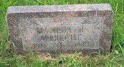 Matilda M <i>Barna</i> Albrecht