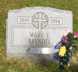 Mary E <i>Ruddock Renwick</i> Bryndel