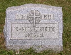 Frances Gertrude Bryndel
