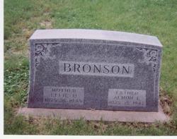 Effie D. <i>Pattison</i> Bronson