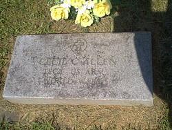Cecil Clair Allen
