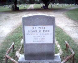 O E Price Memorial Park