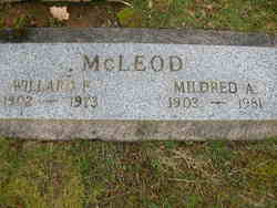 Mildred A McLeod