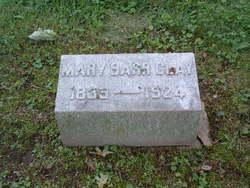 Mary <i>Barr</i> Clay