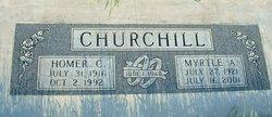 Myrtle <i>Andreson</i> Churchill