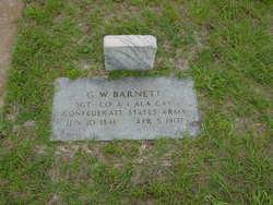 Sgt G W Barnett