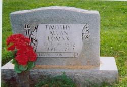 Timothy Allan Lomax