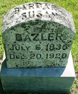 Barbara Susan <i>Hoober</i> Bazler
