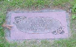 Eva <i>Jackson</i> Baynard