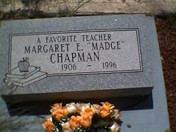 Margaret Eliza Madge <i>Smith</i> Chapman