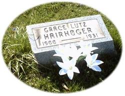 Grace <i>Lutz</i> Hairhoger