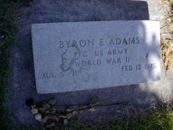 Byron E Adams