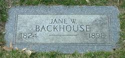 Jane <i>Williams</i> Backhouse