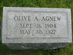 Olive A Agnew