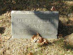 Mary L <i>Nolan</i> Jones