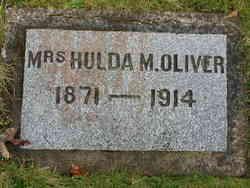 Hulda Matilda <i>Sandstone</i> Oliver