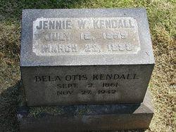 Jennie W Kendall