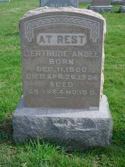 Gertrude Ansel