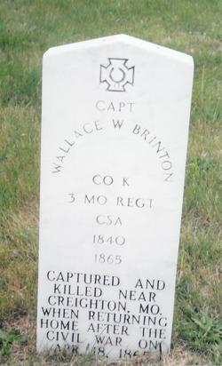 Capt Wallace W Brinton