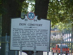 Zion Christian Cemetery