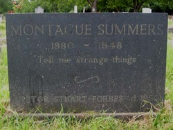 Montague Summers