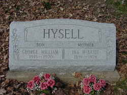 Ina Irene <i>McBride</i> Hysell