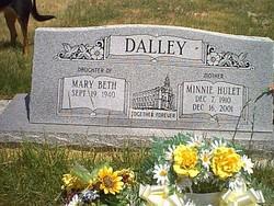 Minnie <i>Hulet</i> Dalley