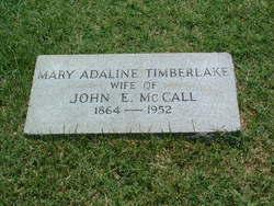 Mary Adaline <i>Timberlake</i> McCall