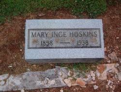 Mary Williams <i>Inge</i> Hoskins