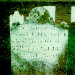 Col John Wise