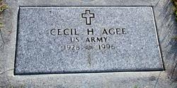 Cecil H. Agee