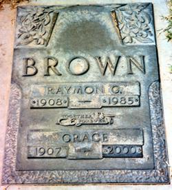Grace Eugene Margaret <i>Best</i> Brown