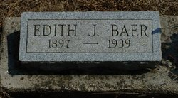 Edith J <i>Malicoat</i> Baer