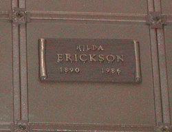 Hilda <i>Larson</i> Erickson