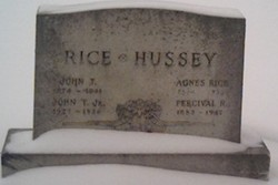 Agnes <i>Rice</i> Hussey